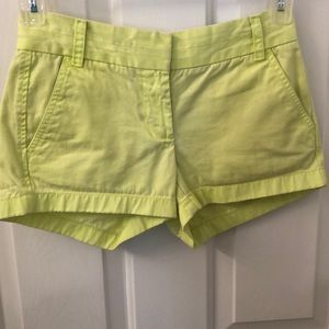 🌺3 for $20 J Crew Chino broken-in size 00 lime